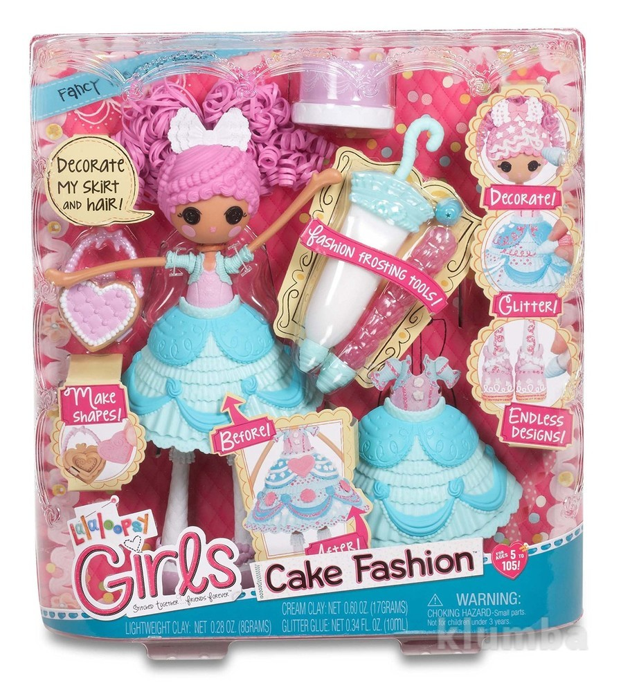 Lalaloopsy girls cake fashion doll- fancy frost 'n' glaze лалалупси глазурина фото №1