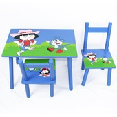 Стол + 2 стула 2407-104 Дора