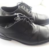 Классические мужские туфли Clarks натуральная кожа