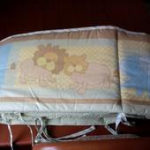 Защита на кроватку Small Wonders 406*25 цельная