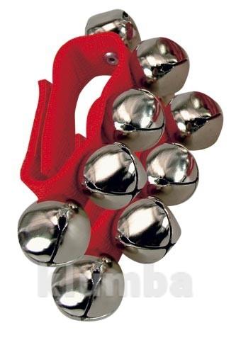 Звоночки бубенчики на браслете фото №1