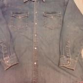 джинсовая рубашка Madoc