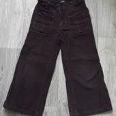 Микровельветовые джинсики GAP 3Т рост 92см