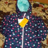 Курточка для девочки H&M, 3-4 года (104см)