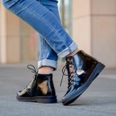 Ботинки кожаные21455