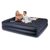 Велюр кровать