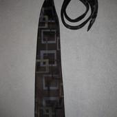 шикарный коричневый галстук