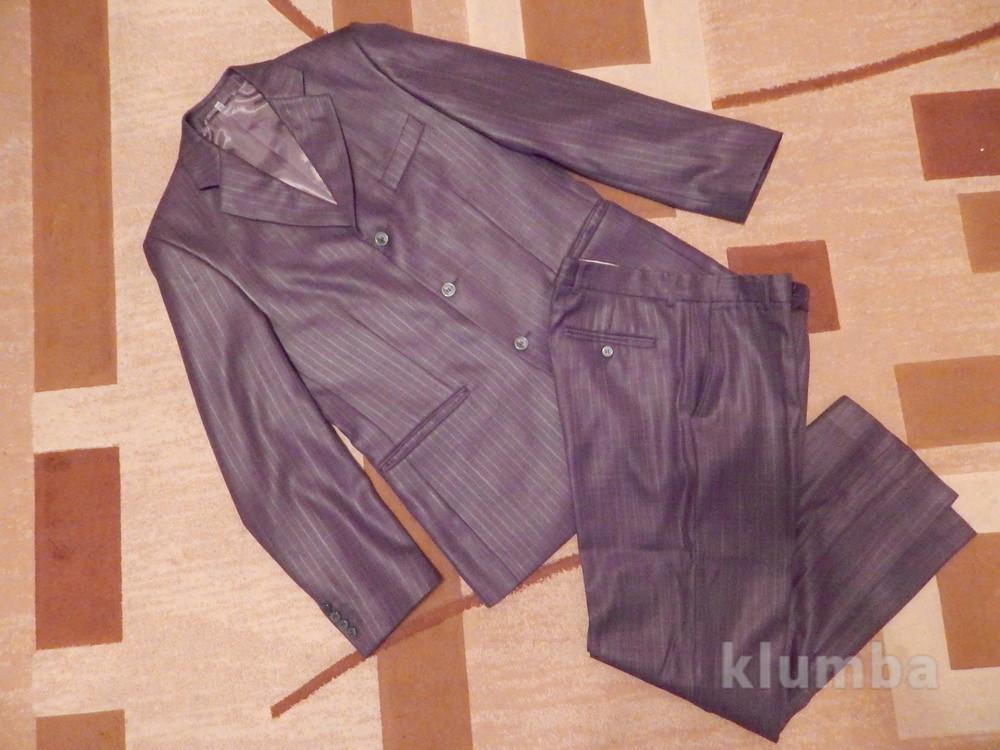 Мужской костюм 48 размер+подарок Состояние нового фото №1