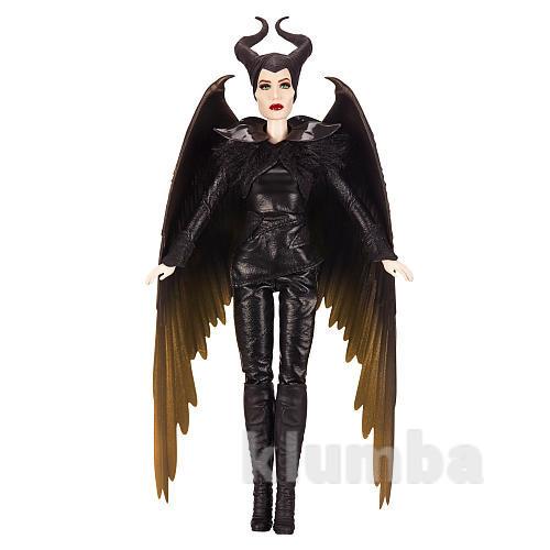 Коллекционная кукла колдунья малефисента с крыльями во дворце короля фото №1