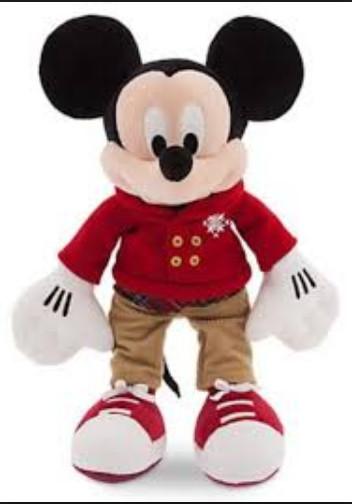 Disney mickey mouse holiday plush - medium - 16'' плюшевый микки-маус дисней фото №1