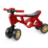 Мотоцикл 4 колеса Беговел 2 красный Орион 188 ролоцикл