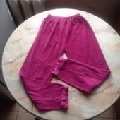 Махровые штаны на девочку размер 128