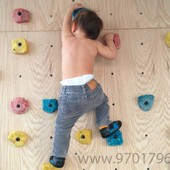 Детский скалодром Скалолаз, 1,25*2м, интересный, и полезный отдых