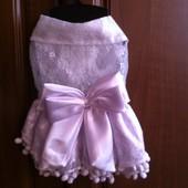 Праздничное платье для маленькой принцессы
