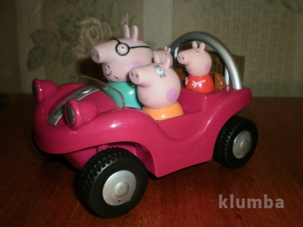 Транспорт из свинки пеппы фото №1