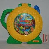 see 'N say animal explorer Fisher Price фишер прайс Mattel маттел смотри и слушай развивающая панель