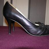 Туфли кожанные на кублуке
