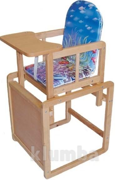 Детский стул-трансформер для кормления (от 6 месяцев до 3 лет) фото №5