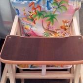 Детский стул-трансформер для кормления (от 6 месяцев до 3 лет)