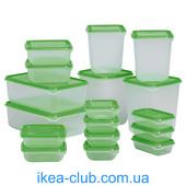 Набор контейнеров IKea укр почта бесплатно читайте описание