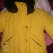 класна курточка демі-на холодну весну-осінь рістдо 68см