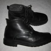 28 см стелька, кожаные зимние ботинки на овчине Gallus, австрия