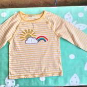 Плотная футболка, реглан  Monsoon для девочки 6 -7 лет (116 -122)
