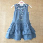 Платье - сарафанчик 6-12 месяцев