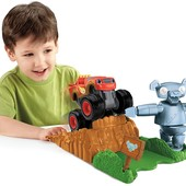 Fisher-Price Nickelodeon Blaze & the monster machines, launch & go forest adventure vehicle