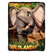 Плюшевый плед Wildlandia 117 х 152 см