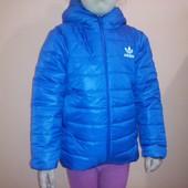 Демисезонная куртка Adidas р 98,104,110,116,122,128