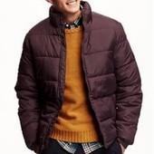 Oldnavy мужская теплая куртка р.М новая