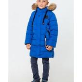Зимняя пальто Джордан на мальчика Цвет электрик в наличии, Размеры 122- 164