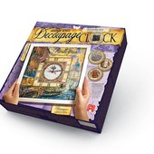 Декупаж настенные часы с рамкой декупаж Danko toys