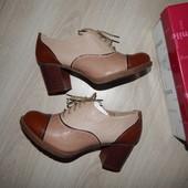 """Стильные демисезонные туфли фирмы """"Centro"""" размер 37 со скидкой"""