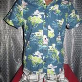 Брендовая рубашка, шведка Hollister р. 48-50 Новая.