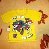 Супер цена на супер футболки для мальчиков, р.80-110 в наличии