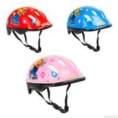 Детский защитный шлем Овшен код 466-121 для велосипедов роликов самокатов