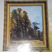 Набор остатки для вышивания крестиком Чаривна мить 390 Осенний лес