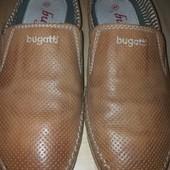 bugatti кожаные мокасины
