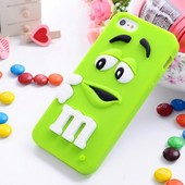 Чехол для iPhone 4 4S 5 5S M&M's, чехлы эмемдемс