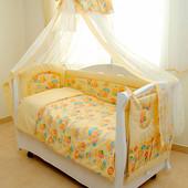 Акция! Детская постель, Twins сomfort Пушистые мишки С-014, 8 елем