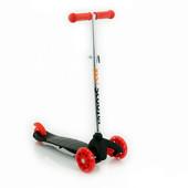 Бест скутер Самокат Бест Скутер с 1,5 до 5 лет трехколесный детский Best Scooter 466-112 с светящими