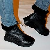 Ботинки 38 р Sally O*Hara кожа зима 38 р