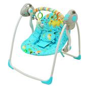 Акция Качели Бемби 32006 с электроприводом Bambi детская музыкальная качель шезлонг