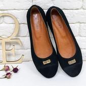 Замшевые,кожаные туфли без каблука(89),р-ры 36-41,любой цвет!