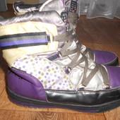 Демисезонные ботинки Geox.38размер. 24,5см. Кожа. Оригинал.