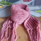 Тёплый толстый шарф