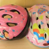 Велосипедные шлемы несколько размеров от 100 грн.