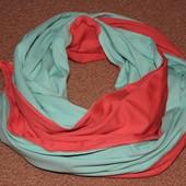 плотный трикотажный шарфик